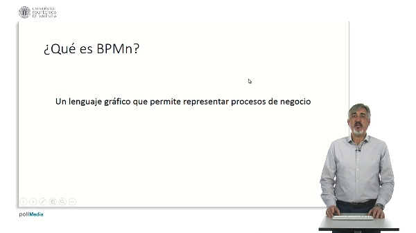 BPMN. Business Process Management notation.