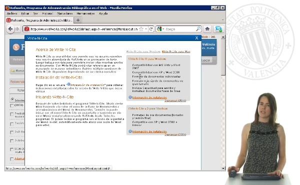 Cómo citar y cómo crear una bibliografía con Word 2003