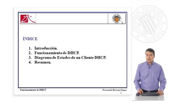 Funcionamiento del protocolo DHCP
