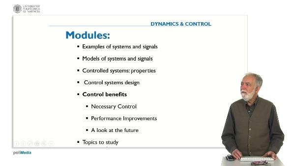 Control Benefits. Necessary Control
