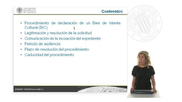 El procedimiento para la declaración de un Bien de Interés Cultural (BIC)