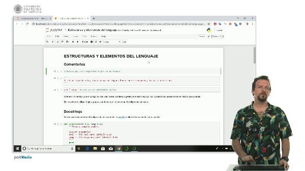 Estructuras y elementos del lenguaje