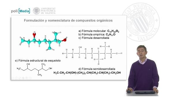 Formulación y nomenclatra de compuestos orgánicos (ejercicio práctico-soluciones)