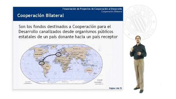 Cooperación Bilateral - La Cooperación Española