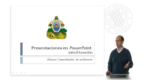 Preparación de una presentación Power Point. Estructuración.