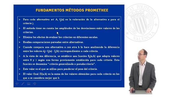 Teoría método Promethee (parte 2)