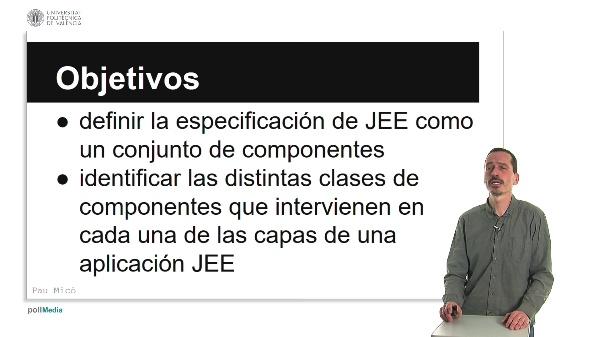 COMPONENTES DEL MODELO DE DESARROLLO JAVA ENTERPRISE EDITION