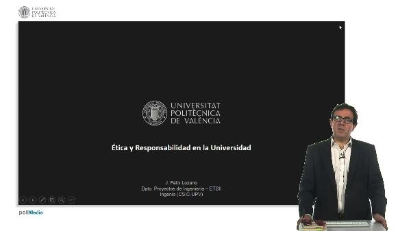 Cierre de curso: ética y responsabilidad en la universidad.