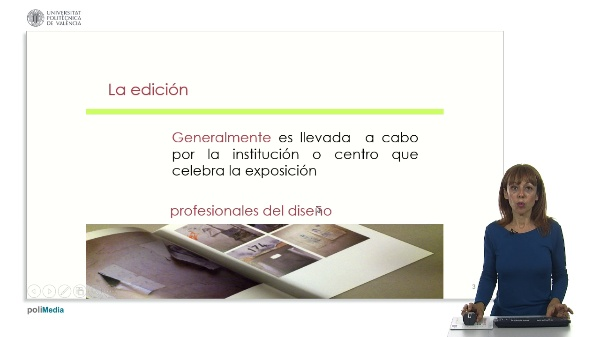 El catalogo de obra o exposicion.