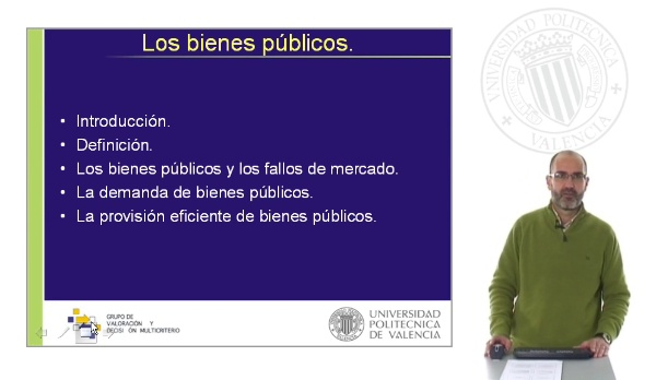Los bienes públicos