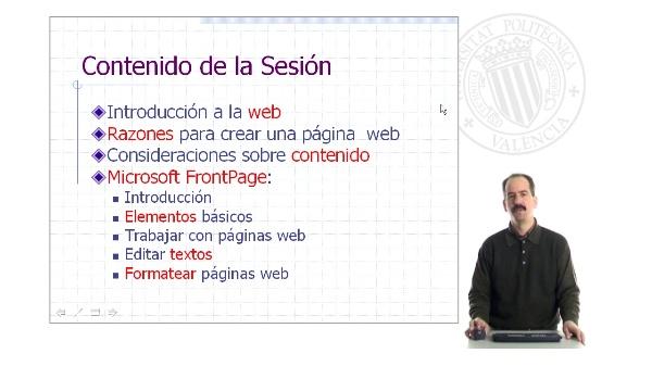 Diseño y mantenimiento de páginas web - I