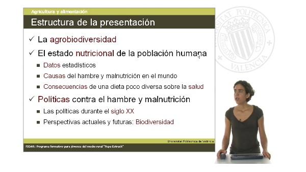 Unidad 1.5. Biodiversidad, alimentación y salud