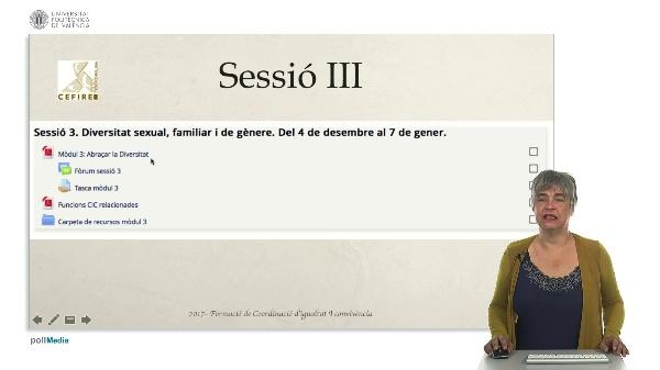 Sessió III - Diversitat de gènere i familiar.