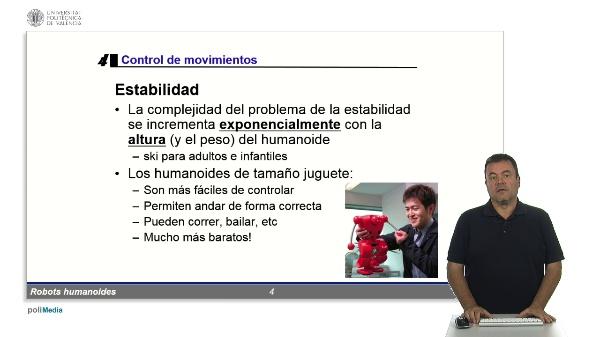 Robots humanoides: control de movimientos