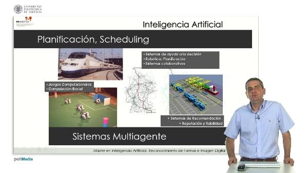 Master en Inteligencia Artificial, Reconocimiento de Formas e Imagen Digital