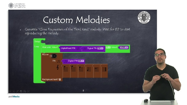 Programming Example: Custom melodies