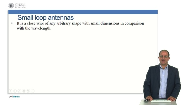 Loop antennas.