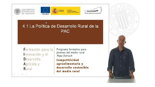 Política de desarrollo rural de PAC