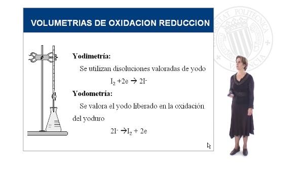 Volumetrías de oxidación-reducción III