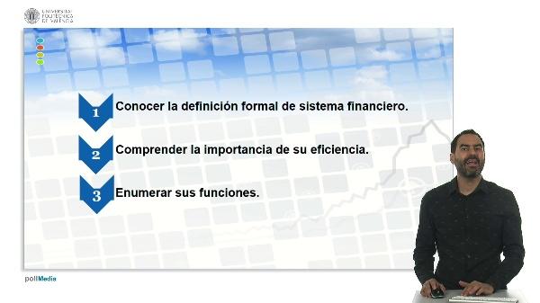 U.1. El sistema financiero. 3 Actividad financiera y sistema financiero. 3.2. conceptos y funciones.