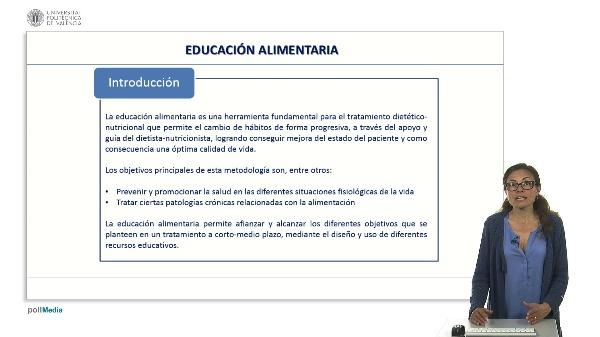 Educación alimentaria. Introducción.