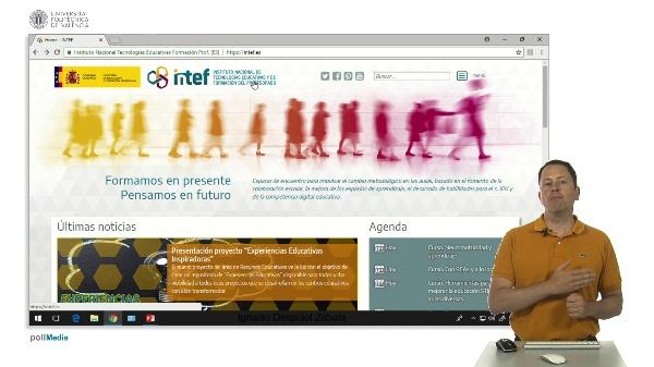 Tecnologías para la educación. INTEF