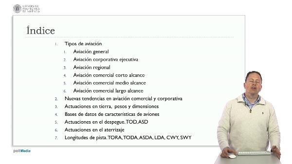 Diseño de aeropuertos según OACI. Resumen módulo 1 Actuaciones del avión