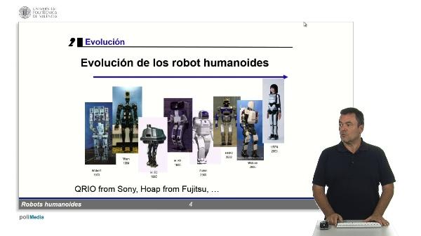 Robots humanoides: Evolución