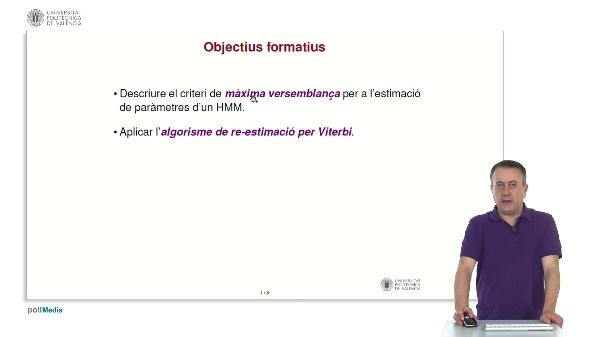 Aprenentatge d'HMMs: re-estimació per Viterbi