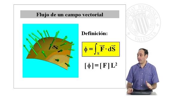 Flujo de un campo vectorial