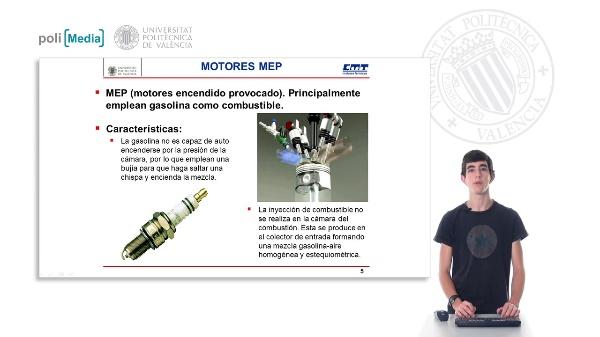 Motores de combustión interna. (MEC, MEP)