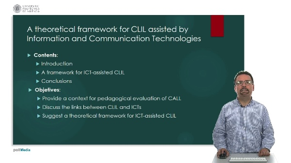 A theoretical framework for clil assisted by information and communication technologies