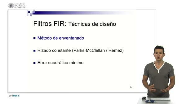 Diseño de filtros FIR por enventanado