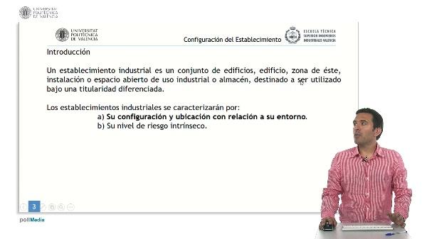 Seguridad contra incendios en establecimientos industriales. Configuración del establecimiento industrial.