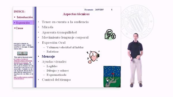 Presentaciones en Publico. Ejemplo de una BUENA presetentación