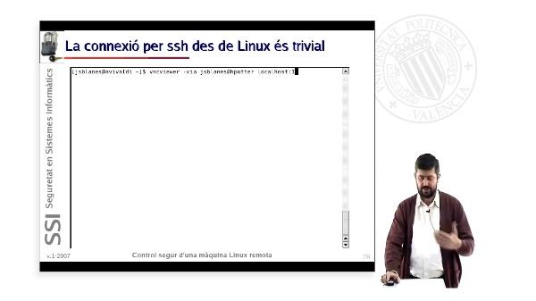 Control segur d''una màquina Linux remota (4 de 4)