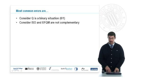 UNI-QM: Most common errors