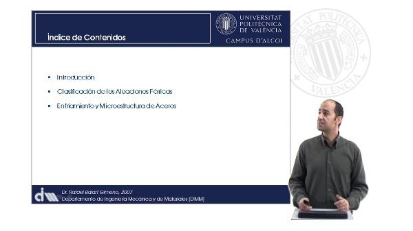 Diagramas de Aleaciones de Ingeniería. Microestructura de Aceros