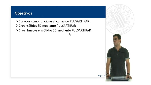 AutoCAD, Creacion de objetos 3D mediante PulsarTirar