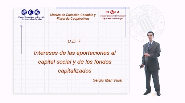Intereses de las Aportaciones al Capital Social y de los Fondos Capitalizados