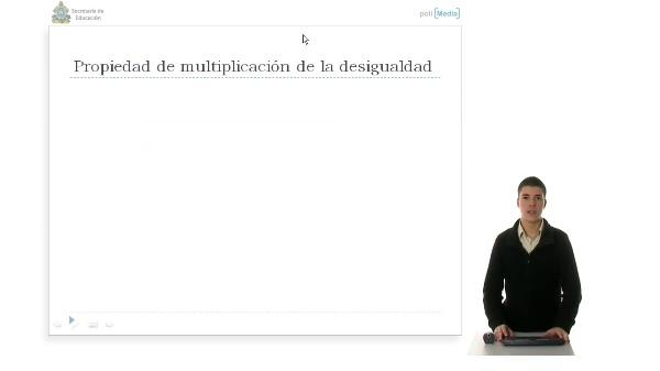 Bloque 2. Álgebra, Propiedad 2 de multiplicación y división de las inecuaciones