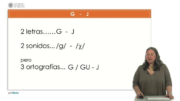 Letras G yJ.