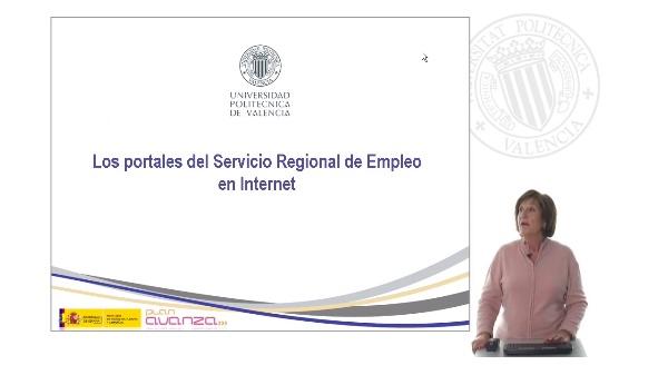 Los servicios regionales de empleo en Internet