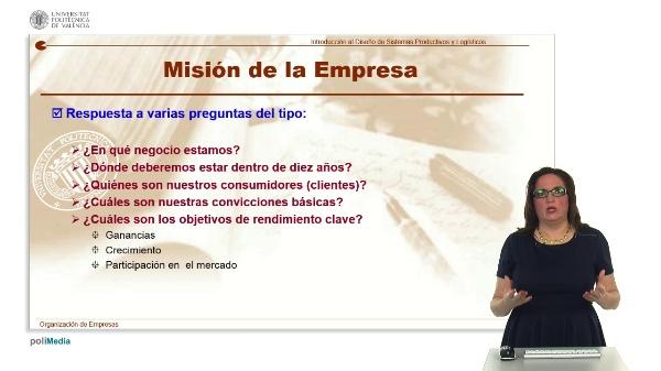 Mision de la Empresa