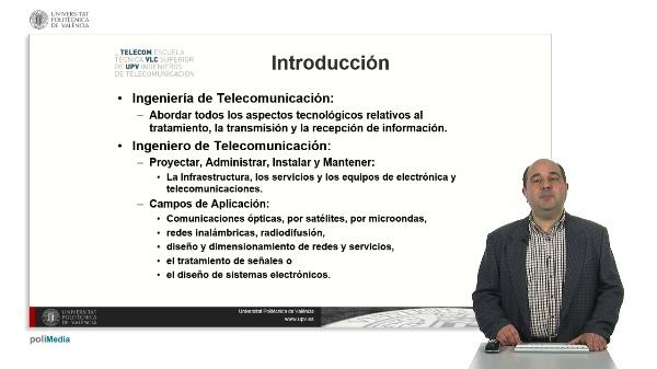 Master Universitario en Ingenieria de Telecomunicacion