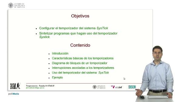 Microcontroladores ARM Cortex-M. Temporización mediante Systick