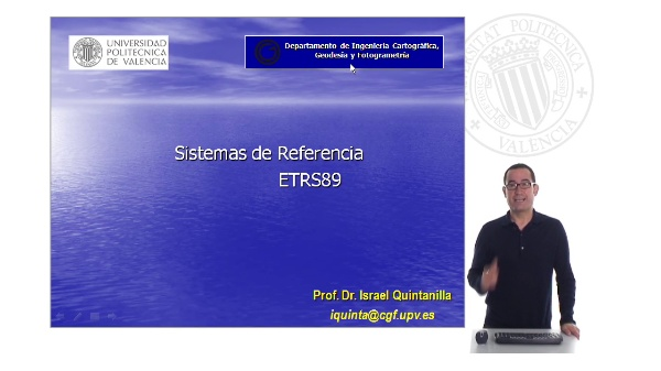 Sistemas de referencia. ETRS89