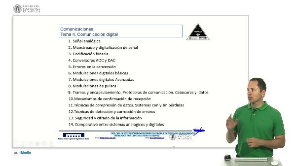 Máster RPAS. Comunicaciones digitales. Índice