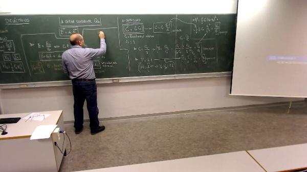 Física 1. Lección 7. Permitividad absoluta en el dieléctrico