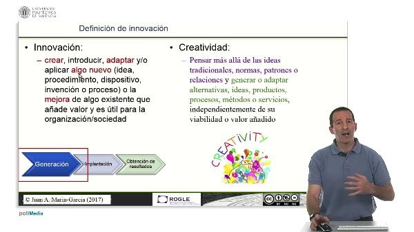 La competencia de Creatividad y su relación con la innovación